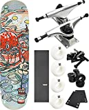 Birdhouse Skateboards Favorites Skateboard 7.75'' x 31.375'' Complete Skateboard - Bundle of 7 items