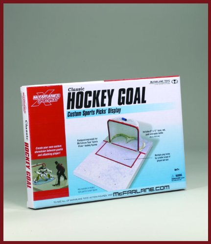 McFarlane Toys Classic Hockey Goal Display Set