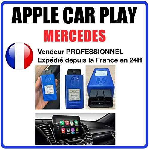 MISTER DIAGNOSTIC Outil dactivation pour Apple Carplay pour Mercedes Benz Car NTG5