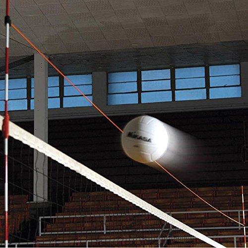 Volleyball Net Serving Line in Orange