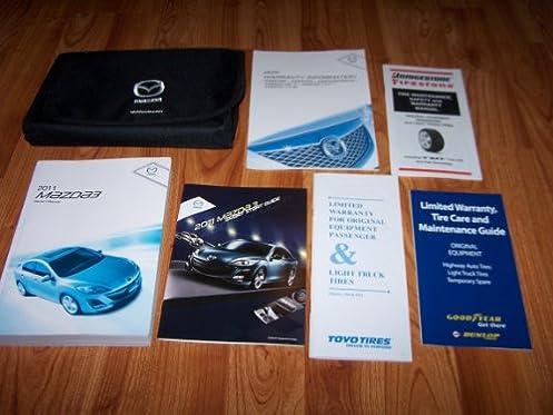 2011 mazda 3 owners manual with case guide books mazda automotive rh amazon com 2011 mazda 3 sedan owners manual mazda 3 2011 service manual