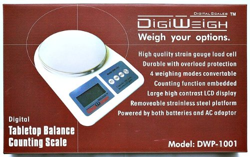 1000g X .1g Digital Jewelry Gram Scale