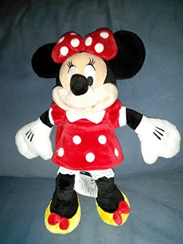 Minnie Mouse Plush Toy - Disneys Minnie Mouse Plush - Red Dress -- 19 H