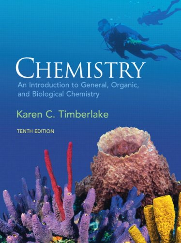 Chemistry: An Introduction to General, Organic, & Biological Chemistry (10th Edition) cover