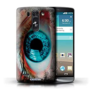 STUFF4 Phone Case / Cover for LG G3 Mini S/D722 / Blue Design / Eye/Iris Collection