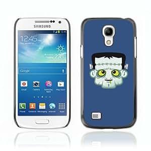 CQ Tech Phone Accessory: Carcasa Trasera Rigida Aluminio PARA Samsung Galaxy S4 Mini i9190 - Funny Frankenstein Illustration