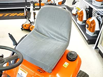 Durafit Seat Covers, KU04 V7 Kubota Lawn Tractor Seat Covers T2080/T2380/GR2000/GR2100 ETC Gray Velour Velour.