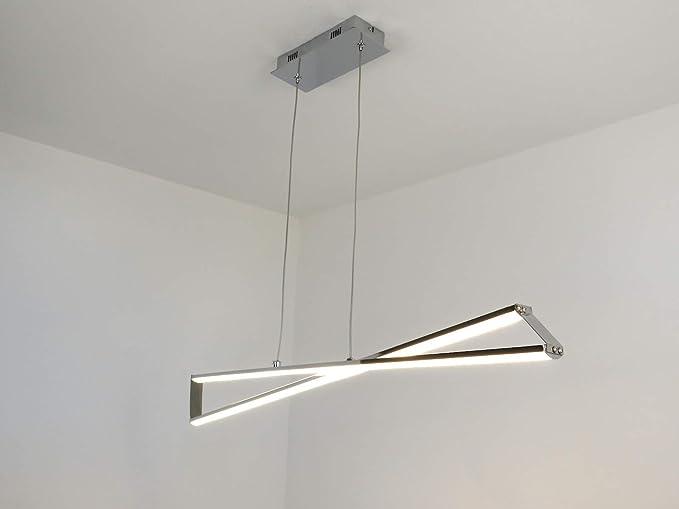 Lampadario sospensione in vetro grigio anni vintage