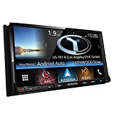 Kenwood DNX773S In-Dash 2-DIN 6.95'' Touchscreen DVD Receiver with Navigation System, Built-in HD Radio, Apple Carplay, and Android Auto Compatible