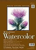 Strathmore 440-1 Strath W.Color 400 9X1212SHT 130 lbspirl, Multicolor