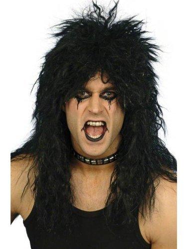 Heavy Metal Rocker Wig In Blonde (Star55 Men's Wo Blond Rocker Heavy Metal Slash Kis Punk Fancy Dres Wig One Size Fits All Black)