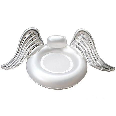 Sunbobo Asiento inflable del flotador de la ala del PVC para los niños adultos Juguete del