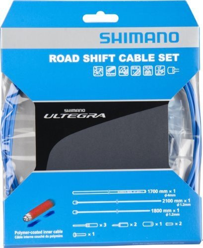 Shimano SWITCH CABLE SET POLYMER BLUE ROAD ULTEGRA 1ST SENTENCE Y-00F98970 by