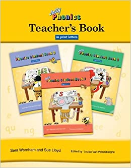 Amazon com: Jolly Phonics Teacher's Book in Print Letters