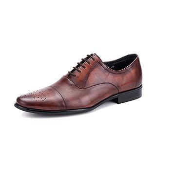 Articulaciones Cuero Zapatos De Con Guapos HombresDos Ktyxgkl Para SLqGUVzMp