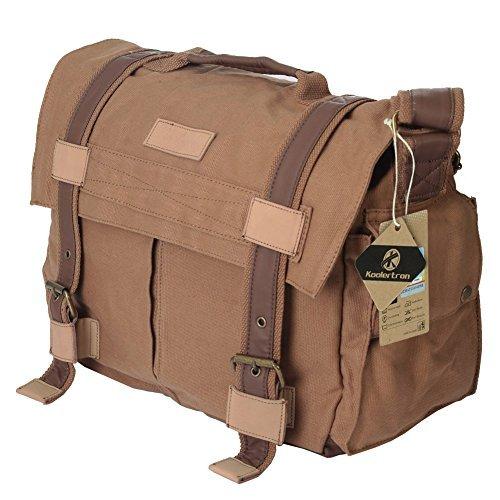 Koolertron Big Size DSLR Camera Canvas Shoulder Bag