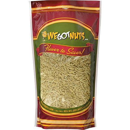 We Got Nuts Blanched Slivered Almonds 2lb Bulk Bag , in Resealable Bag, Kosher Certified
