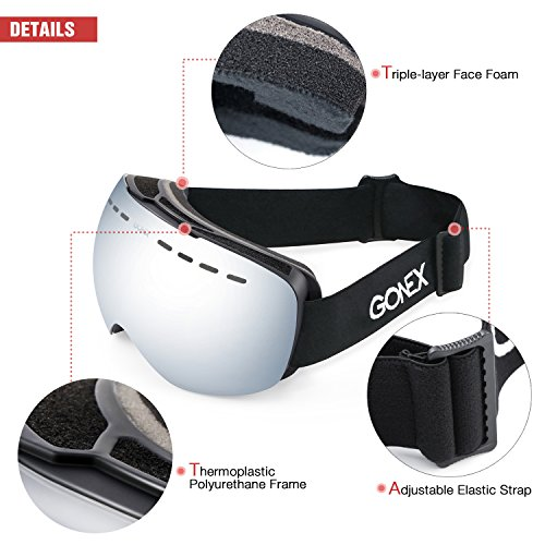 b4aa3ea7a441 Jual Gonex OTG Ski Goggles