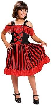 DISBACANAL Disfraz Can Can Bailarina para niña - -, 10-12 años ...