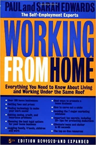 Working From Home Paul Edwards 9780874779769 Amazon Com Books