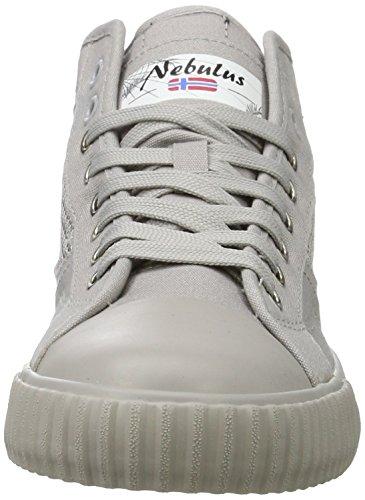 Nebulus Dames Hoge Sneaker Best Grijs