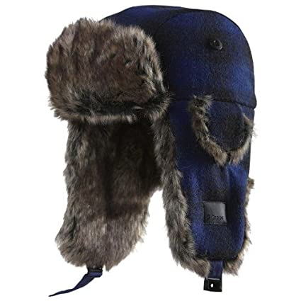 4b1cb2c32a4f8 Buy Chaos Kid s Muscle Plaid Trapper Hat