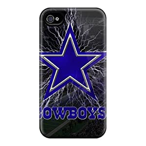 Iphone 4/4s TBC5612tpda Custom High-definition Dallas Cowboys Pattern Perfect Hard Cell-phone Case -nice-cheap-cases