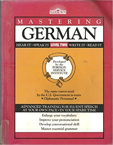 Book Mastering German, Level 2 (Foreign Service Languages Institute Series) by Not Available (1992-08-30)