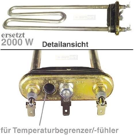 Resistencia Calefacción para Siemens Bosch Lavadora 1950 W ...
