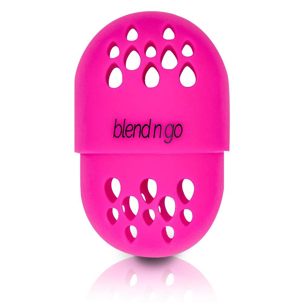 blend n go | Makeup Sponge Travel Container | Soft Silicone Holder