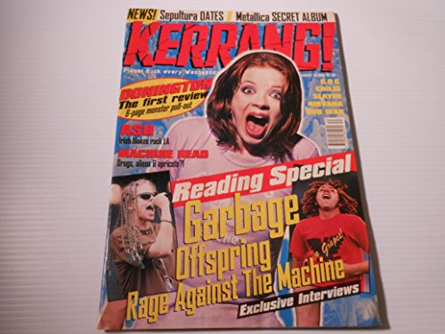 Kerrang! magazine(UK Publication) issue 611 August 24, 1996 (Garbage, Offspring, Rage against the machine on cover)[single issue magazine]