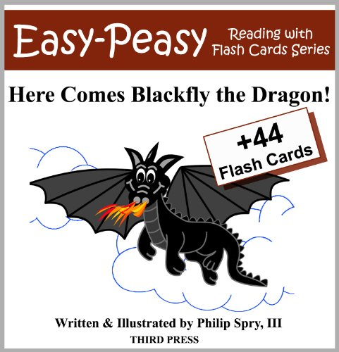 Aka Card (Here Comes Blackfly the Dragon! (Easy-Peasy Reading & Flash Card Series Book 3))