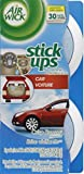 AirWick Stick-Ups Car Air Freshener, Crisp Breeze Fragrance, 2 Count, (Pack of 6)