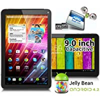 9in Dual Core Power Tablet PC Android 4.2 Jelly Bean WiFi HDMI Google Play Store