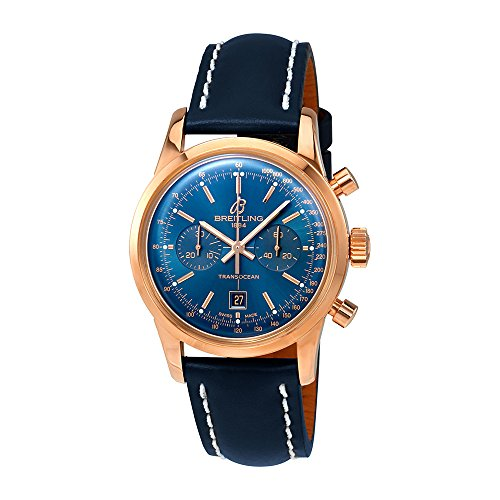 Breitling Transocean Chronograph Automatic Mens Watch R4131012-C863BLLT