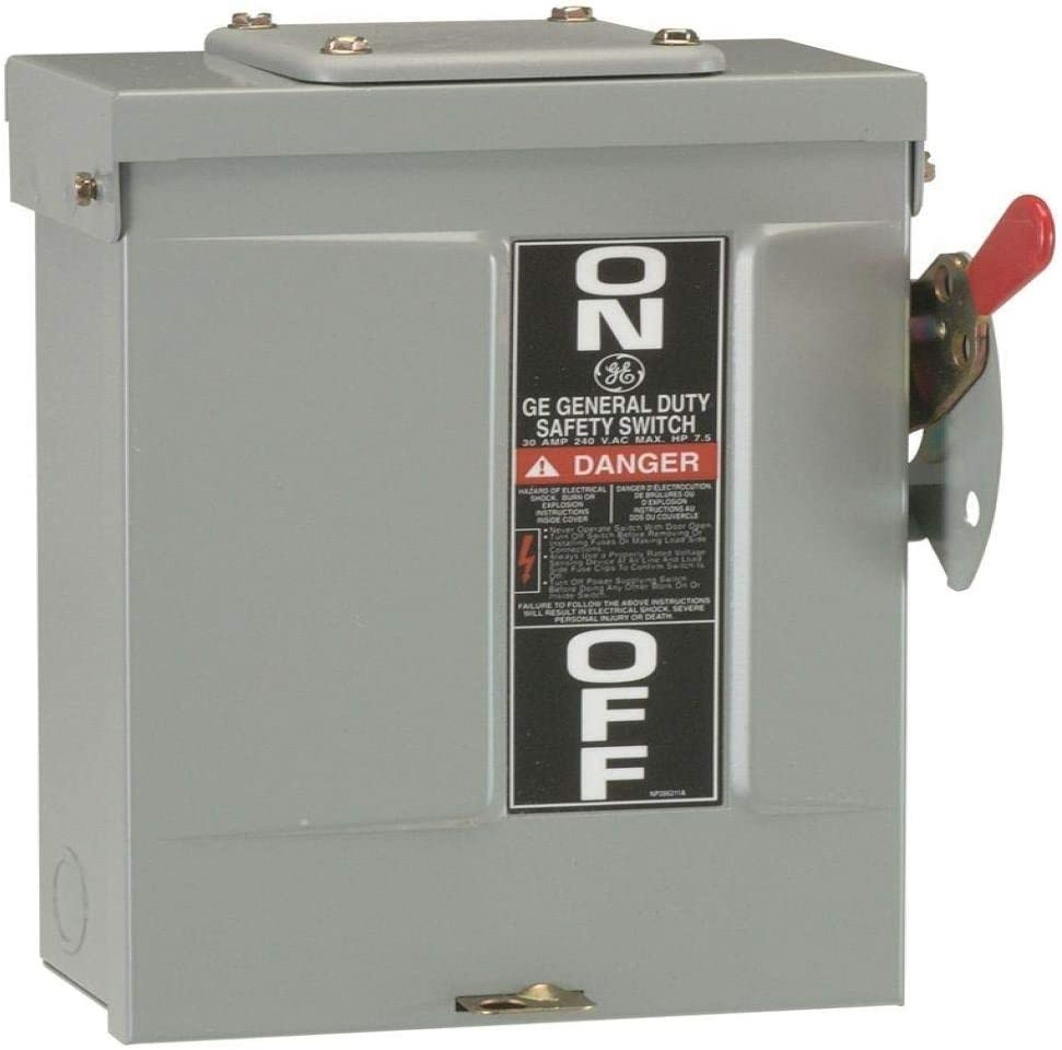 N//A GE Industrial Systems TGN3321R 240//250 Volt AC//DC Voltage Rating 3 Pole 30 Amp G