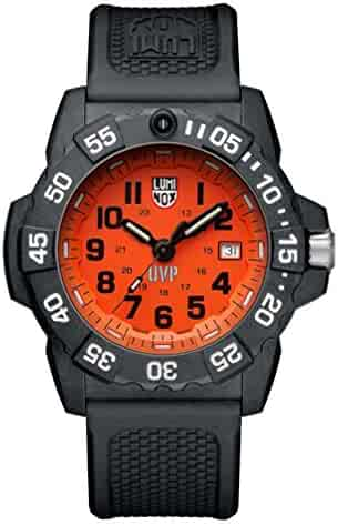 a580cce4f2c Luminox Men s  SEA  Swiss Quartz Stainless Steel and Rubber Casual Watch