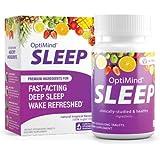 OptiMind Sleep (Formally RestUp), Fast-Acting Sleep Aid | Non-Habit Forming | Melatonin, Magnesium, 5-HTP, L-Theanine…