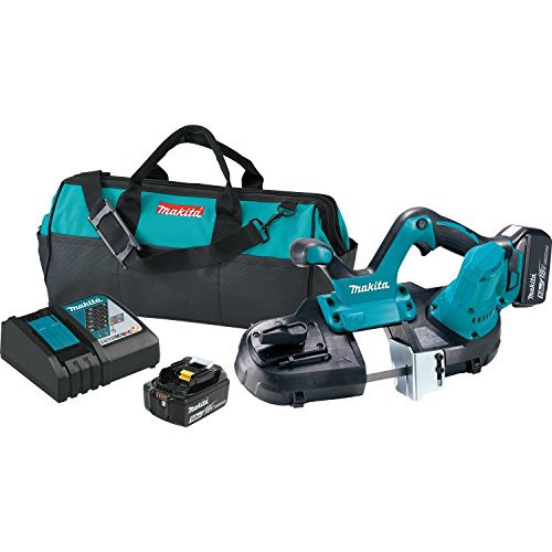 T Lithium-Ion Cordless Compact Band Saw Kit (5.0Ah), ()