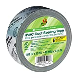 Duck Brand HVAC Duct Sealing Tape, Silver, 1.88