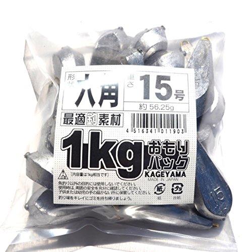 景山 六角 1kg詰パック 15号の商品画像