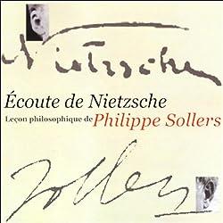 Écoute de Nietzsche