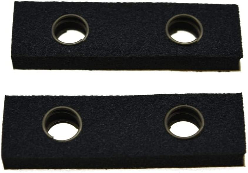 KAISH Pack of 4 Bass Pickup Height Foam Pickup Height Adjustment Pads with Springs for P Bass or Jaquar Pickups