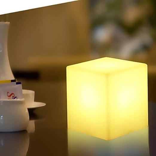 OUSENR Lámpara De Mesa Simple Led Luz De Noche Para La Barra ...