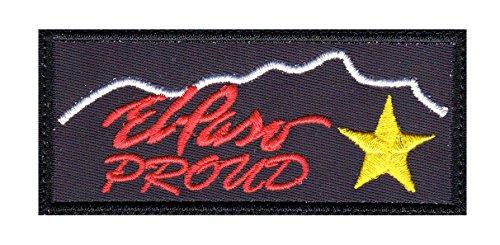 El Paso Texas Proud Tactical Morale Hook+Loop - Texas El Paso Store