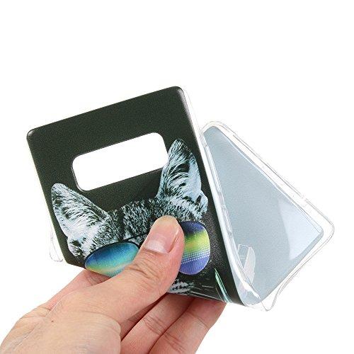 Funda Galaxy Note 8,EUDTH Suave TPU Gel Funda Case Delgado Silicona Fundas Carcasa Espalda para Samsung Galaxy Note 8/SM-950F (6.3 Pulgadas) Cielo estrellado Algún día