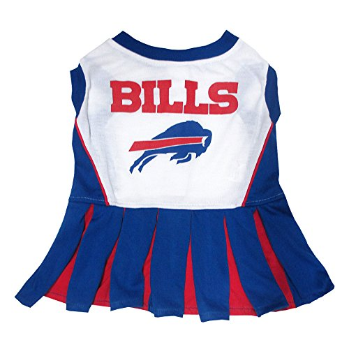- Buffalo Bills NFL Cheerleader Dress For Dogs - Size X-Small