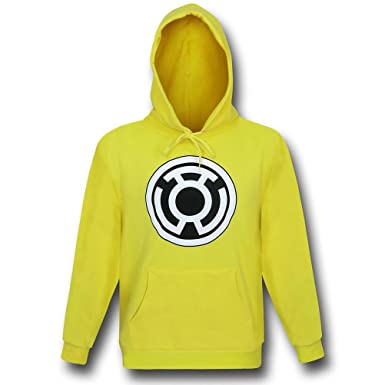 Amazon.com: Green Lantern Sinestro Corps Yellow Pullover Hoodie ...