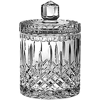 Amazon com: Waterford Crystal Lismore Biscuit Barrel: Kitchen & Dining