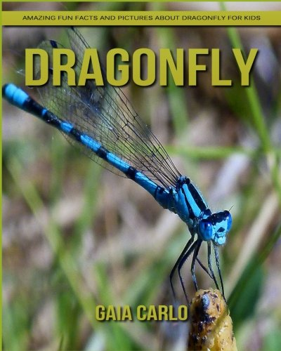Dragonfly: Amazing Fun Facts and Pictures about Dragonfly for Kids